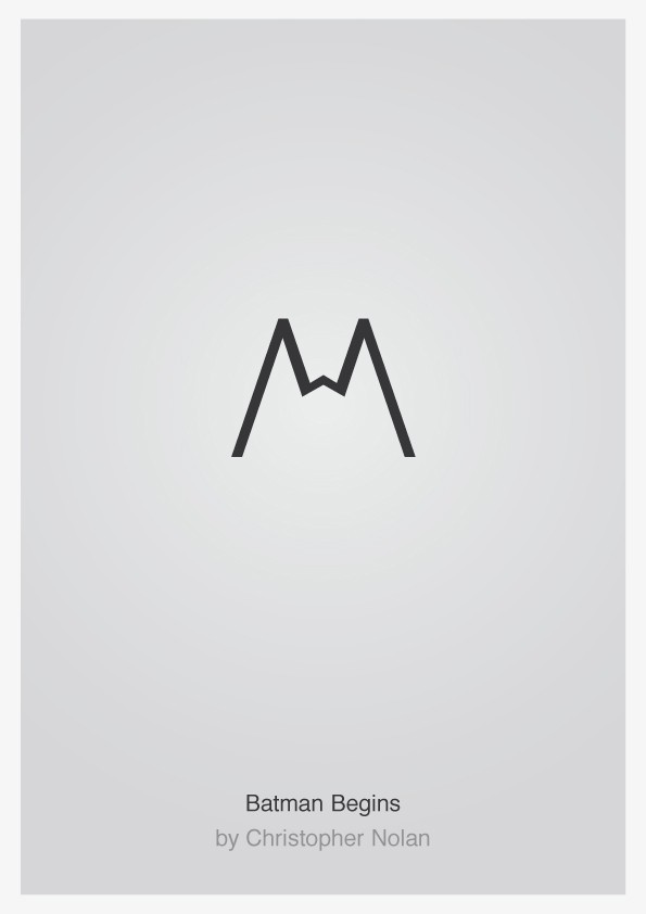 Minimalist Typographic Movie Posters 1