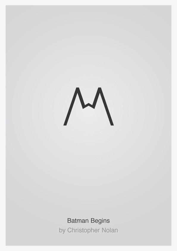 Minimalist Typographic Movie Posters 1