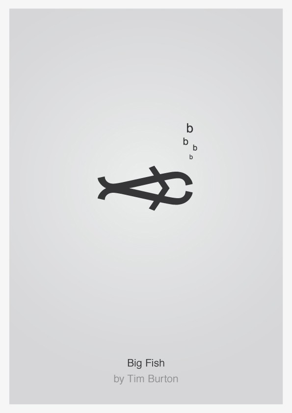 Minimalist Typographic Movie Posters 3