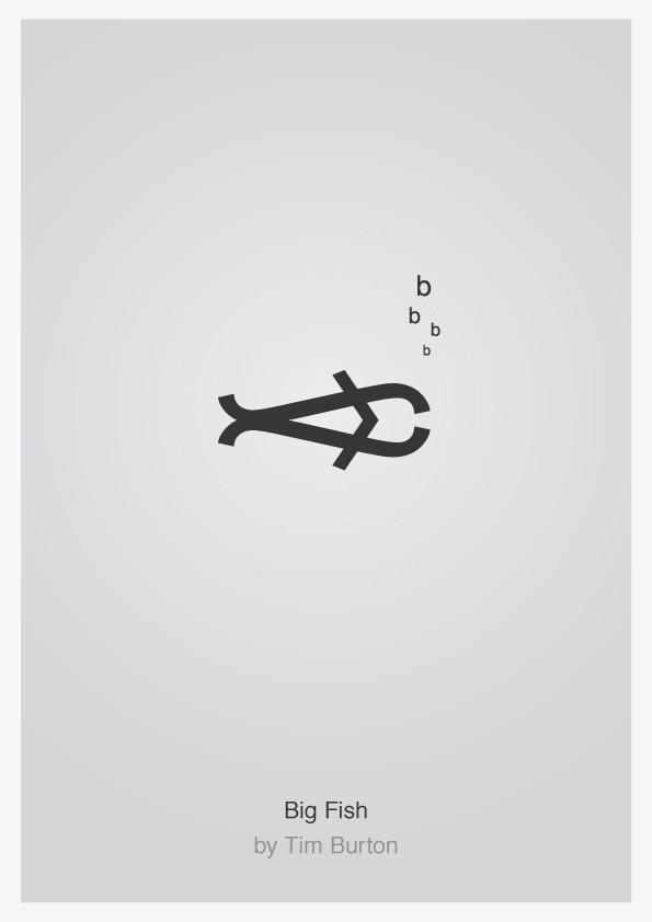 Minimalist Typographic Movie Posters 3