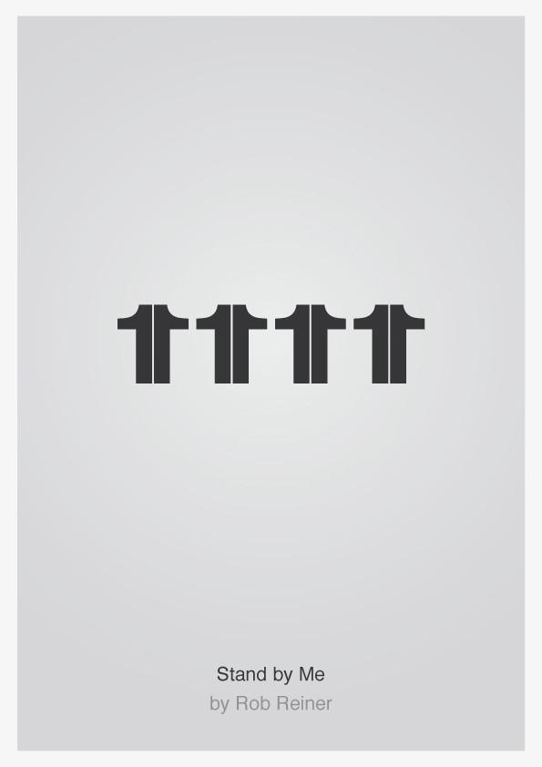 Minimalist Typographic Movie Posters 4