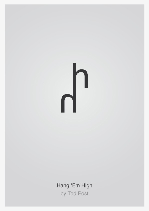 Minimalist Typographic Movie Posters 6