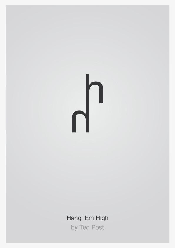 Minimalist Typographic Movie Posters 6