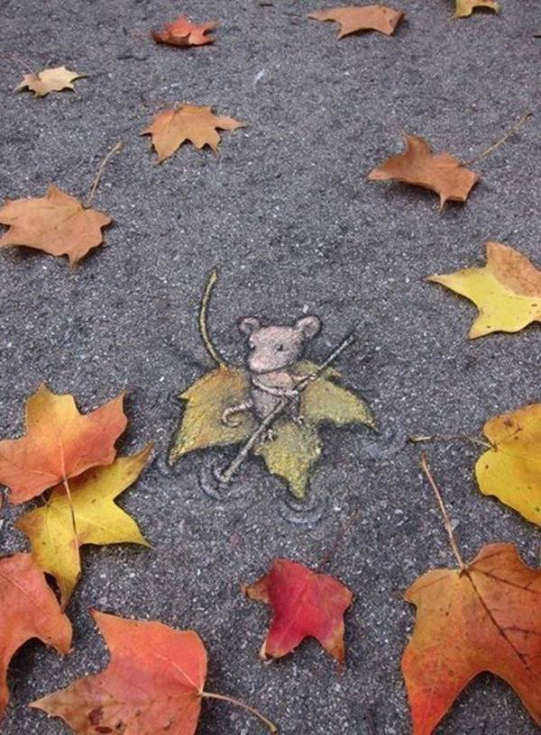 Street Art by David Zinn1