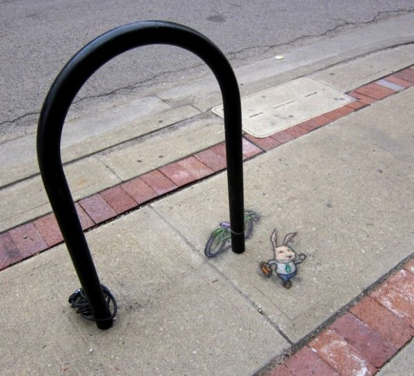 Street Art by David Zinn12