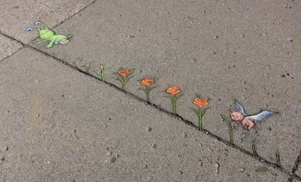 Street Art by David Zinn4