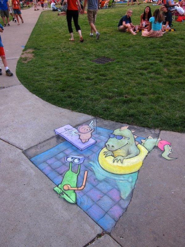 Street Art by David Zinn6