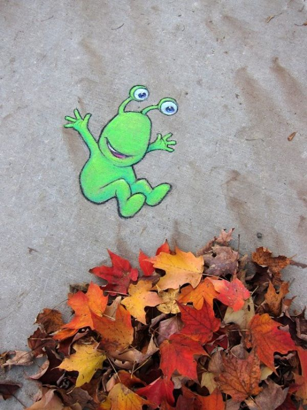 Street Art by David Zinn7