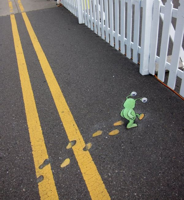 Street Art by David Zinn9